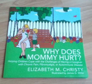 The front cover of the paperback version why does mommy hurt