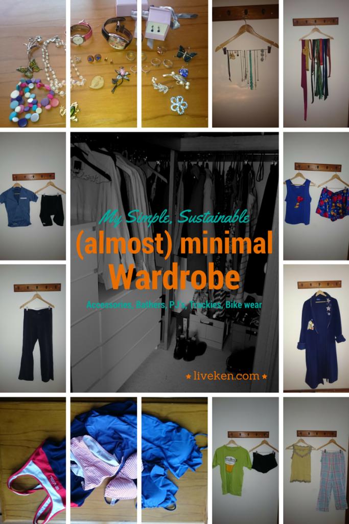 Wardrobe - Accessories, Bathers, PJ's, Trackies, Bike wear