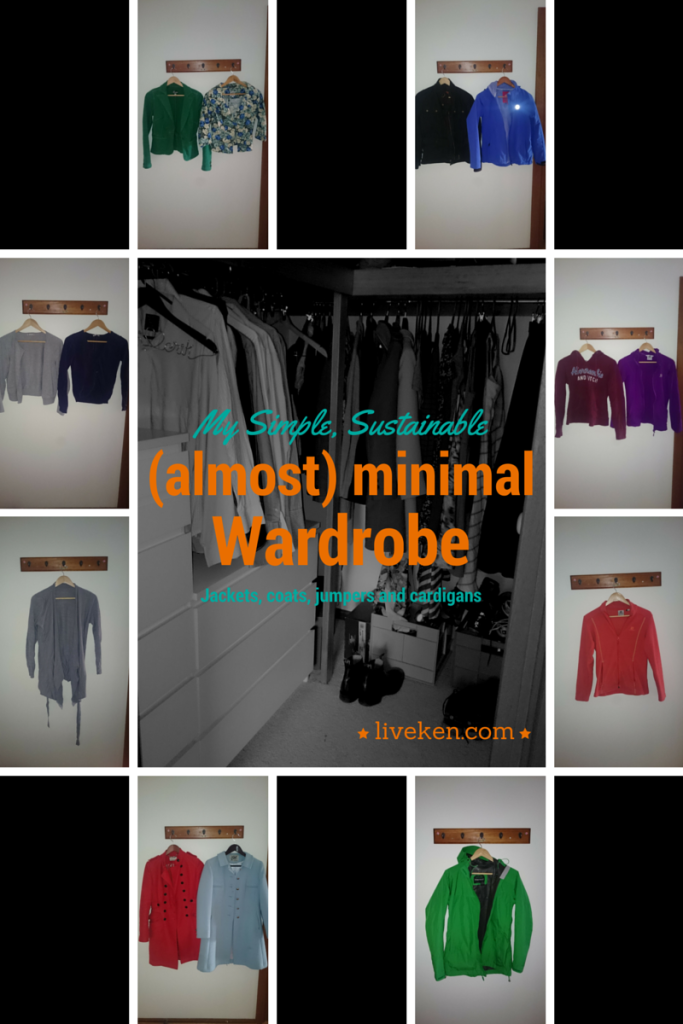 Wardrobe - jackets, coats, jumpers and cardigans